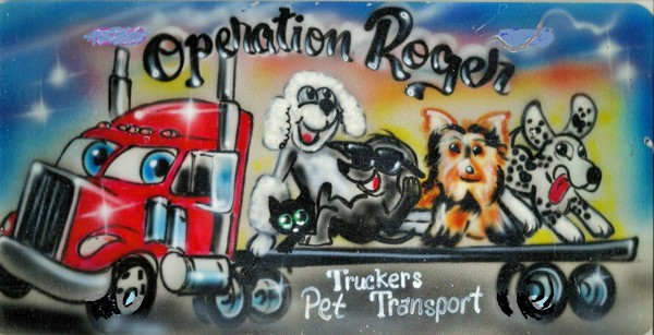 Operation Roger Truckers Pet Transport - Joshua, TX