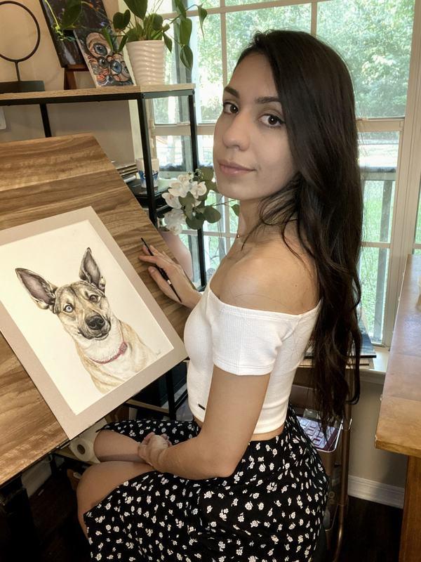 Watercolor Pet Portraits - Nationwide