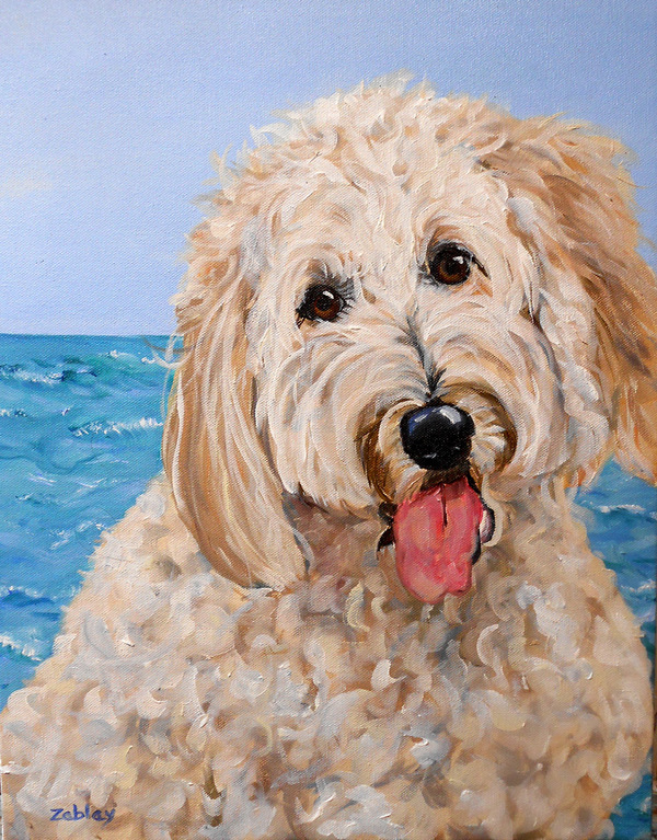 Custom Pet Oil Painting from your Photos - Prospect Park, PA