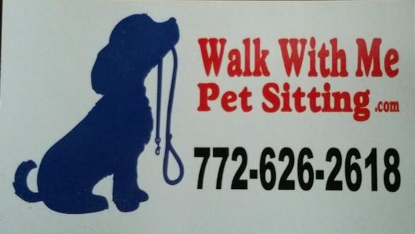 Walk With Me Pet Sitting - Port St Lucie, FL