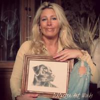 Schlueter Sketch Studios Pet Portraits- Princeville, IL
