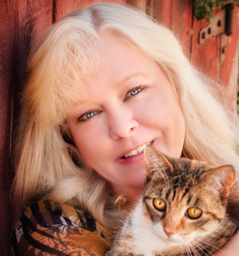 Laurie Reyon & Master Cat Puddah Speak and Heal - Oceanside, CA
