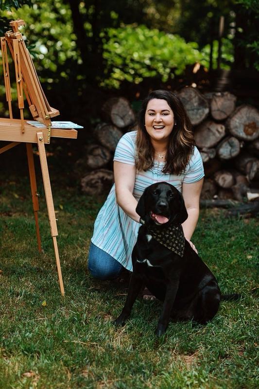 Custom Watercolor Pet Portraits | Miller & Me