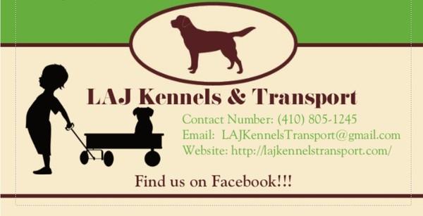 LAJ Kennels & Transport - Middle River, MD